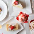 ◆手作りケーキ◆当店では毎日4~6種類のケーキを手作りにてご提供しております。14時からお得な『ケーキセット』もございます。