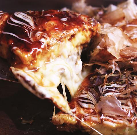 何を食べよかな~そうだ!お好み焼を食べよう。そう思ったらちゃばな堀川店へ★