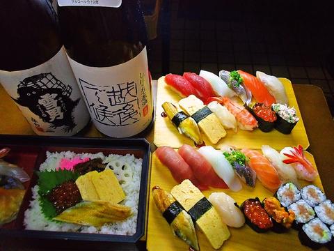 リーズナブルな値段だが、板前さんがちゃんと握ってくれる本格的なお寿司が味わえる。