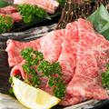 料理メニュー写真A5特選黒毛和牛焼きしゃぶ(焼野菜付き)