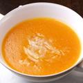 料理メニュー写真すずきの菊花型甘酢風味 / 卵白入りフカヒレスープ(1カップ)