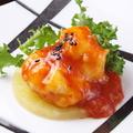 料理メニュー写真大海老の四川風チリソース煮 / 大海老の季節野菜炒め