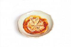 自家製マルゲリータトルティーヤピザ