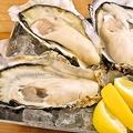 料理メニュー写真生真牡蠣、焼き牡蠣