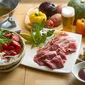 料理メニュー写真国産牛・豚のしゃぶしゃぶ付き都野菜バイキング ※店舗注文のみ