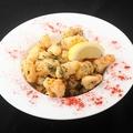 料理メニュー写真タコのフリットシチリア風