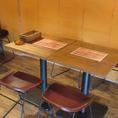 4~5名様用テーブル