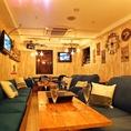 ◆半貸切(~12名様)◆友人との集まりから仲間内のパーティーやイベントまで、使える場面は多種多様!クラブのVIPルームの様な店内で充実したひと時をお過ごしください。