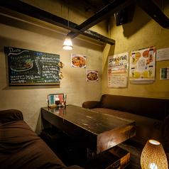 【~6名様】プライベート感のあるソファー個室。