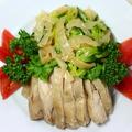 料理メニュー写真クラゲと蒸し鶏の盛合せ/クラゲ(醤油味)/クラゲ(塩味)