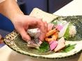 職人技が光る料理の数々。会社宴会や接待等、各種飲み会にご利用ください。