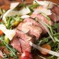 料理メニュー写真鴨肉冷製タリアータ