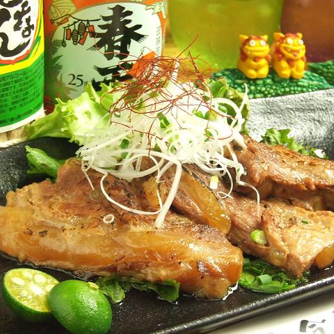 沖縄の味と雰囲気を都心で味わえる店!!ご予約の方には手書きのメッセージカードを♪