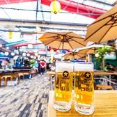 【新宿ビアガーデン最安値宣言!!】飲み放題と当店自慢の本格シュラスコなどがついて、破格の2,000円~でご用意♪屋上ビアガーデンとなっておりますので、昼は太陽の下で、夜は新宿の夜景と共に自慢のビールをお楽しみください!!毎日ランチタイムから営業しております♪当日予約も歓迎しております♪