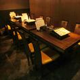 テーブル席個室は34名様~最大44名様までOK!ご予約はお早めに★