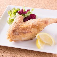 料理メニュー写真スペイン鶏の半身唐揚げ