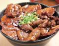 料理メニュー写真豚ロース丼