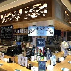 【SMILE】大将の寿司を楽しみに来店されるお客様も多数。おすすめは看板メニューの「穴子の寿司」、「炙りサーモンの生ハムロール」「うにとホタテのマリアージュ」です。