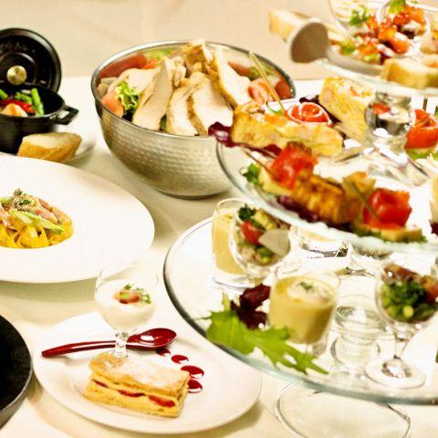 【Light Plan】軽く食べて飲める飲み放題付きライトプラン 3800円(税込)