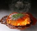 料理メニュー写真広島焼 ミックス肉玉