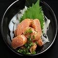 料理メニュー写真博多炙り明太子