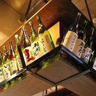 【地酒は常時30種以上】串カツ/おでんと合う銘酒あり