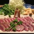 料理メニュー写真鴨ネギ鍋