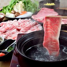 焼肉としゃぶしゃぶ 肉の鶴々亭のコース写真