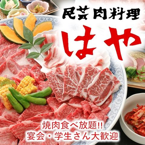 民芸肉料理 はや 泉北の郷