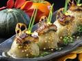 料理メニュー写真蓮根と里芋のおまんじゅう