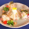 料理メニュー写真お刺身サラダ