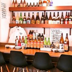 お一人様のサク飲みにも最適!アットホームな雰囲気と温かいオーナー・店員さんとの会話も楽しめるカウンター!もちろん静かに飲みたい方にもぴったりです!デートや仲間とのサシ飲みにも★