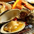 料理メニュー写真海鮮浜焼きセット