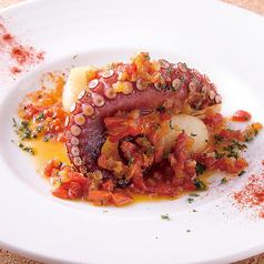 料理メニュー写真蛸のプランチャ