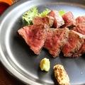 料理メニュー写真国産牛赤身ステーキ