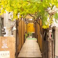 中に通ずる道はまさに荻窪の隠れ家♪荻窪駅近徒歩3分♪