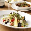 料理メニュー写真押し麦と夏野菜のインサラータ