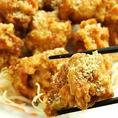【若鶏の唐揚げ】カラッとジューシーに揚げたてを提供! 800円(税抜)