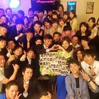 WD2次会も★最大70名様までOKなワンフロア!!