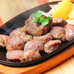 【数量限定】黒豚アゴ肉の鉄板焼 200g