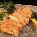 料理メニュー写真若鶏の竜田揚げ 香味ソース