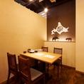 北海道といえば「木彫りの熊」!!北海道感満載の店内で絶品料理に舌鼓♪♪