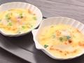 料理メニュー写真帆立貝と菜の花のクリームグラタン