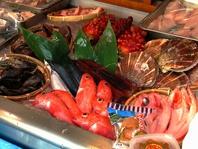 三陸宮古直送の海鮮がたくさん!