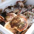 ◆活貝・活牡蠣・活魚◆ ご予約の際、海鮮で食べたいものがあれば、特別ルートで商品を直送してもらいますので、リクエストがありましたら、ご相談ください。