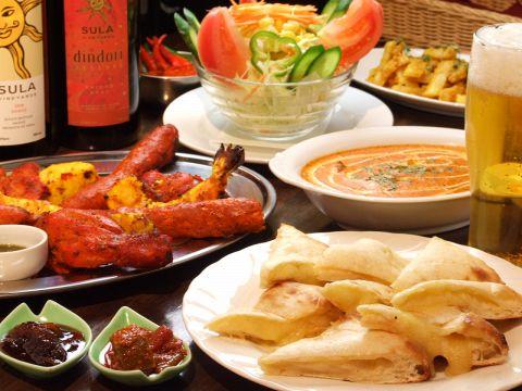 武蔵小杉駅北口より徒歩3分!本格インド料理なら【MAYA RESTAURANT】へ。