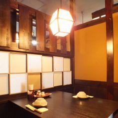 落ち着いた雰囲気で食事を楽しめます。歓迎会も受付中!
