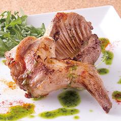 料理メニュー写真スペイン産 ウサギのグリル ~サルサベルデ添え~