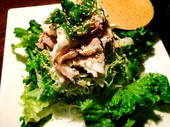 料理メニュー写真豚しゃぶサラダ