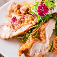 群馬ブランド『上州地鶏』の逸品料理も豊富にご用意